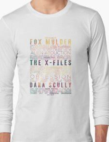 The X-Files Revival - Light Long Sleeve T-Shirt