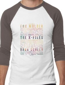 The X-Files Revival - Light Men's Baseball ¾ T-Shirt