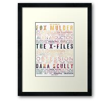 The X-Files Revival - Light Framed Print