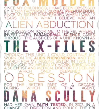 The X-Files Revival - Light Sticker