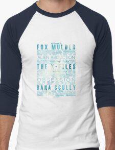 The X-Files Revival - Blue Men's Baseball ¾ T-Shirt