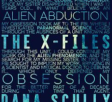 The X-Files Revival - Blue by subject13fringe