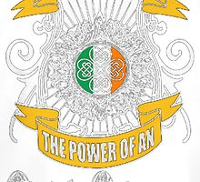 The Power of An Irish Woman by HotTShirts