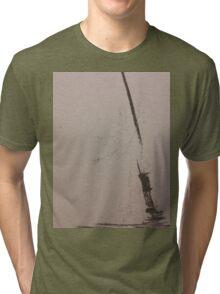 No Land Ahoy! Tri-blend T-Shirt