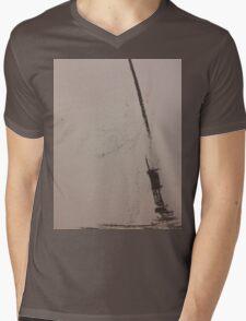 No Land Ahoy! Mens V-Neck T-Shirt