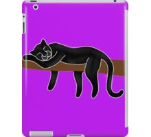 Panther Sleeping iPad Case/Skin