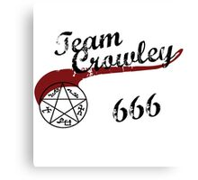 Team Crowley Canvas Print