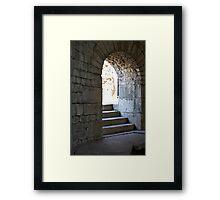 Pergamon arch interior Framed Print