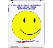 Light-speed Smile iPad Case/Skin
