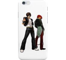 The King Of Fighters - Kyo Kusanagi Vs Iori Yagami iPhone Case/Skin