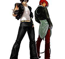 The King Of Fighters - Kyo Kusanagi Vs Iori Yagami by kyzson69