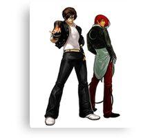 The King Of Fighters - Kyo Kusanagi Vs Iori Yagami Canvas Print