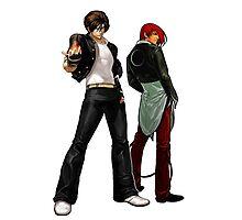 The King Of Fighters - Kyo Kusanagi Vs Iori Yagami Photographic Print