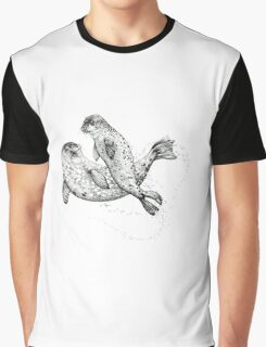 Swimming seals Graphic T-Shirt