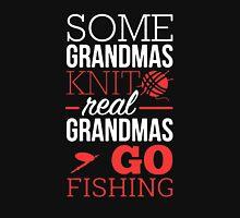 Real Grandmas Go Fishing Unisex T-Shirt
