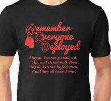 RED FRIDAY Unisex T-Shirt