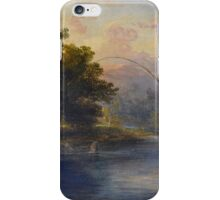 JAMES WILLIAM GILES RSA (-) Fly Fishing in Scotland  iPhone Case/Skin