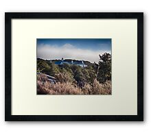 The Chateau Roof Framed Print