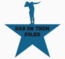 Cam newton Dab blue star by luckynewbie