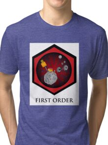 First Order - Drive Thru in the Galaxy Far Far Away Tri-blend T-Shirt