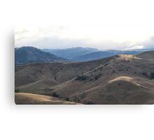 Megalong Hills Canvas Print