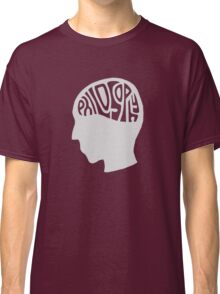 This is Your Brain on Thinking (Color: Intellectual Grey) Classic T-Shirt