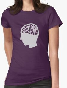 This is Your Brain on Thinking (Color: Intellectual Grey) Womens Fitted T-Shirt