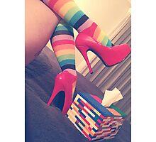 Rainbow Brite Photographic Print