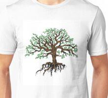 Silhouette of tree Unisex T-Shirt