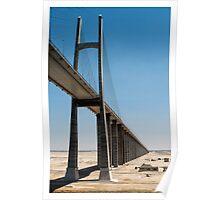 Suez Canal Bridge Poster