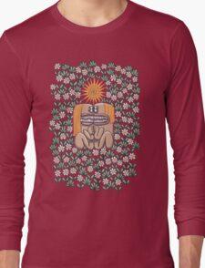 Love Found Amidst Daisies Long Sleeve T-Shirt