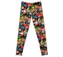 Beer bottle caps Leggings