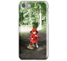 Red Riding Ante iPhone Case/Skin