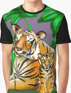 Jungle Tigers Graphic T-Shirt