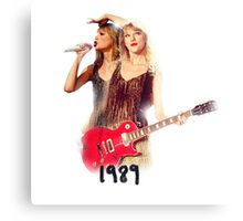 Tailor Swift -ts 1989 - Guitar Canvas Print
