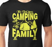 This Girl Loves Camping With Her Family Unisex T-Shirt