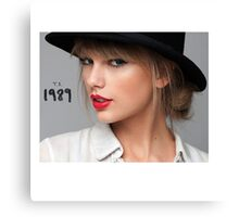 Taylor Swift 00 - ts 1989 Canvas Print