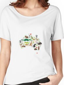 Funny australian animals Women's Relaxed Fit T-Shirt