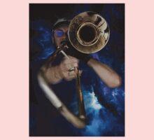 Trombone by Anne Winkler One Piece - Short Sleeve
