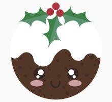 Christmas Pudding One Piece - Short Sleeve