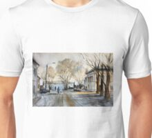 Late Autumn in the Town Valday Unisex T-Shirt