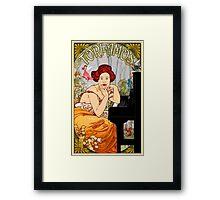 TORI NOUVEAU FAIRY FOREST Framed Print