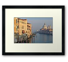 Grand Canal in the Evening Framed Print