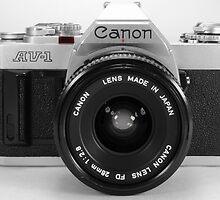 Canon AE-1 by DavidEarly