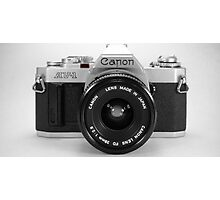 Canon AE-1 Photographic Print