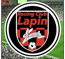 Racing Club Lapin - Red & Black Circle Logo (Stadium) by JoelCortez
