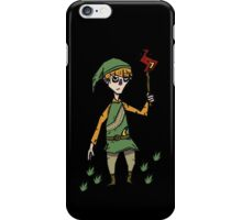 Link x don't starve iPhone Case/Skin