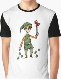 Link x don't starve Graphic T-Shirt