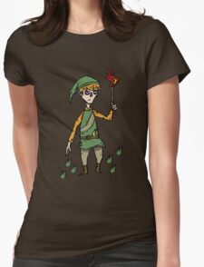 Link x don't starve Womens Fitted T-Shirt