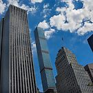 New York Towers by Dave Hare